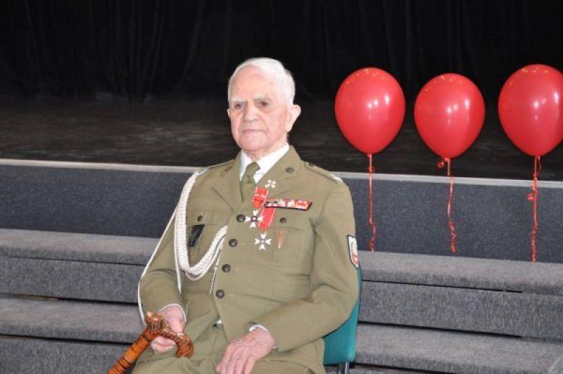 Major Sierawski skończył 100 lat