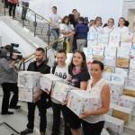 Do sejmu przywieźliśmy milion podpisów zcałej Polski, które ważyły około 1 tony