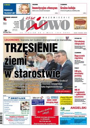 Mazowieckie To I Owo - tygodnik - prenumerata półroczna już od 2,80 zł