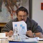 Przewodniczący komisji badającej nieprawidłowości przy budowie CEKS, Arkadiusz Syguła.