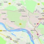 Czy Legionowo powiększy tereny o Bukowiec i os. Przylesie (teren zaznaczony granatową obwódką) kosztem Jabłonny?