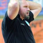 Trener Robert Lis i jego drużyna byli bliscy zdobycia kompletu punktów w Głogowie.