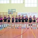 Mistrzynie Mazowsza Juniorek, zespół LTS I Legionovia.