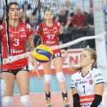 Natalia Gajewska dobrze kierowała grą zespołu, choć zarówno ona jak i jej koleżanki nie ustrzegły się błędów.