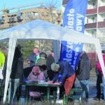 W zaledwie 3 godziny zebrano ponad 500 podpisów pod protestem m.in. przeciwko dalszym dogęszczeniom Os. Jagiellońska.