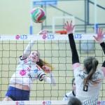 Kasia Niderska, kadetka jeszcze gra z powodzeniem w zespole legionowskich juniorek.