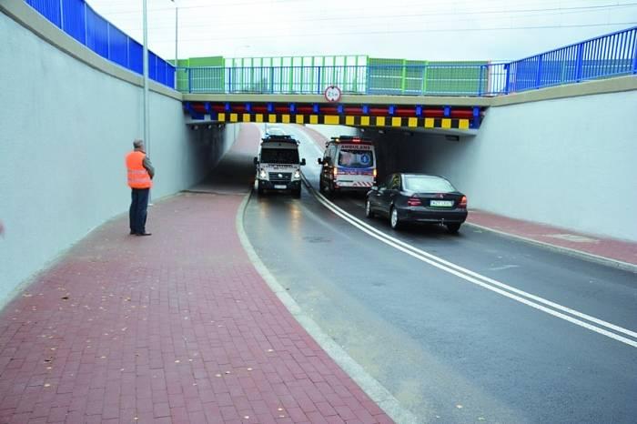 mini tunel Grodzisk