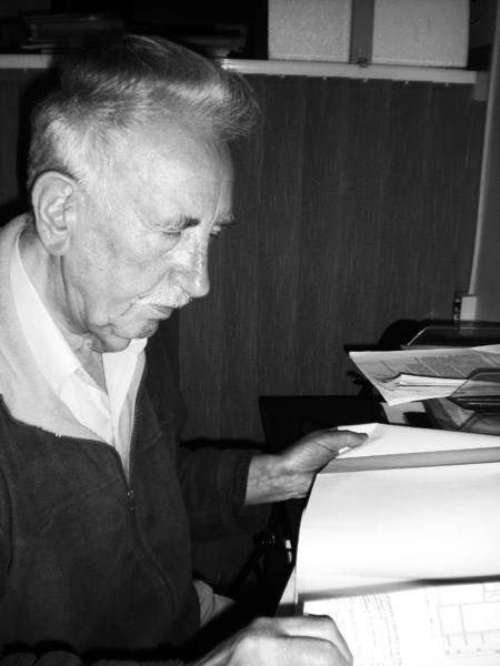 """""""Chciałem dociec, kto forsował tę budowę i jakie miał argumenty, że przekonał radnych"""" - mówił w styczniu 2010 roku Stanisław Pawiński. Fot. archiwum"""