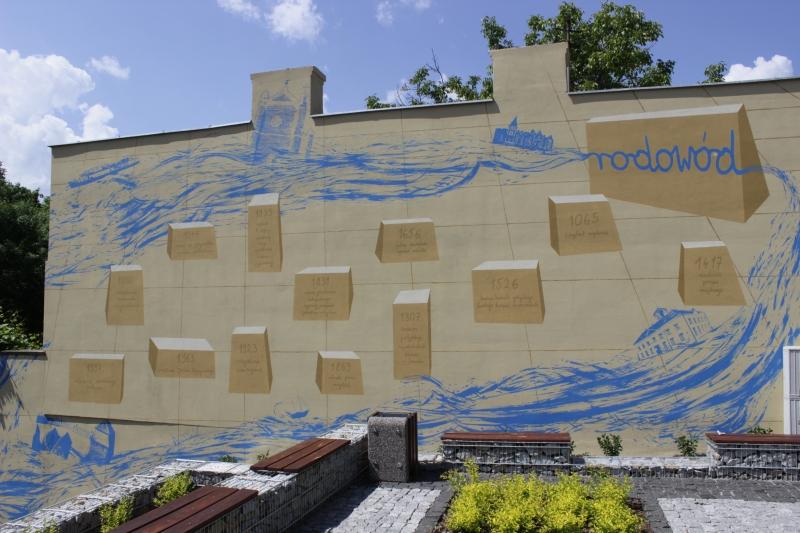 Powsta kolejny mural for Mural legionowo