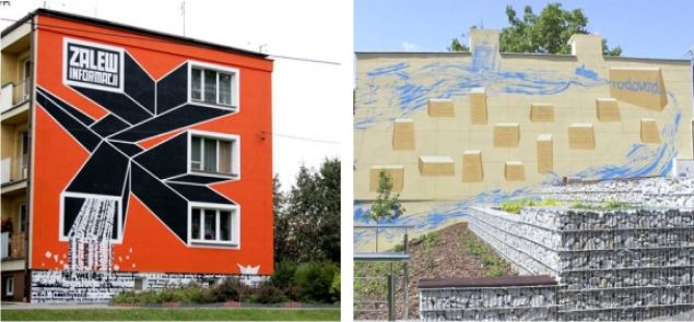 Serock kolejny mural ozdobi miasto for Mural legionowo