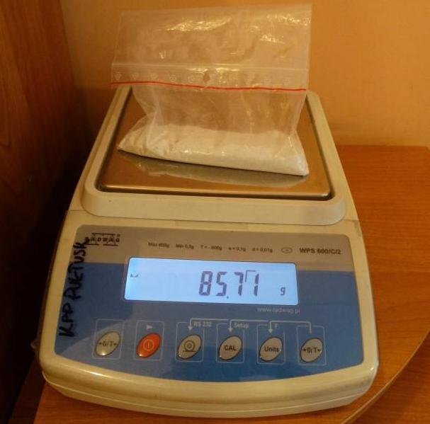 waga z narkotykami