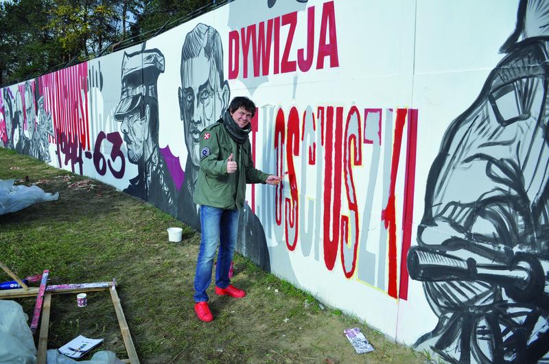 legionowo mural patriotyczny i najd u szy w europie