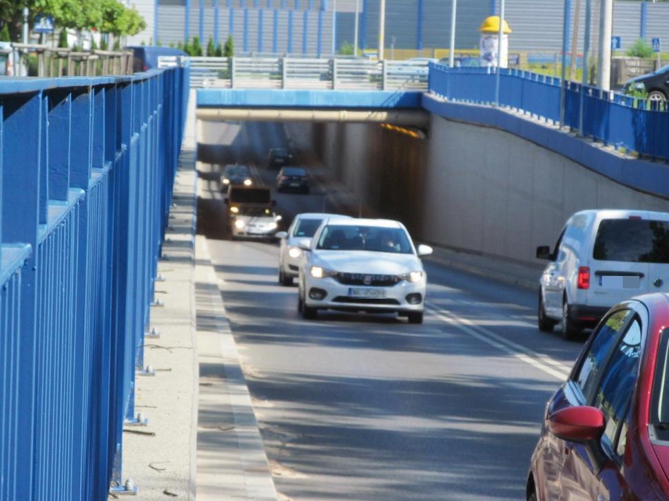 Legionowo Ciężarówki Bez Wjazdu Do Tunelu